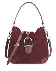 Equestrian Soft Suede Hobo - Ralph Lauren Ralph Lauren Handbags - RalphLauren.com handbags leather