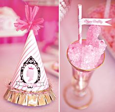 """Darling """"Pretty In Pink"""" Princess Party // Hostess with the Mostess®"""