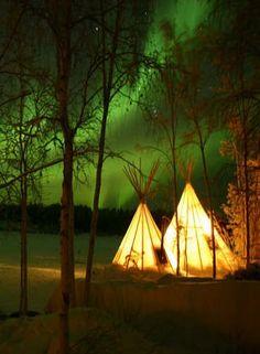Northern Lights - Yellowknife, Canada