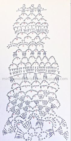 http://mirincondemariposas.blogspot.com.es/2013/03/circular-vest-with-pattern.html - mi rincón de mariposas: Circular vest (with chart)