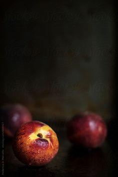 Peaches by Federica Di Marcello   Stocksy United