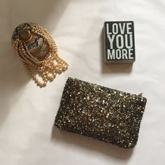 Zara - Gorgeous Sequin Clutch New Bronze Bronze, Gold, Silver, Copper ...a million sequins make this clutch sparkly and so chic! NWOT. Never used. Fabric lined. Zips across the top. ZARA!! What's not to love?! Zara Bags Clutches & Wristlets