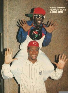 """Old School"" Flavor Flav and KRS One"