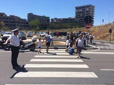 Bari terminata larea parcheggio di fronte alla scuola Montello a Poggiofranco
