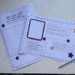 een vriendenboekje maken met de klas met deze downloads van Suus kinderfeestjes