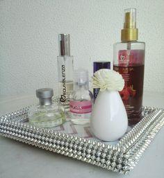 DIY Perfume Tray | Decoração Bandeja