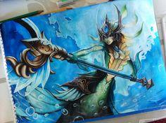 League of Legends: Nami by Kytru on deviantART