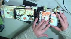 coffee sleeve mini album tutorial - YouTube