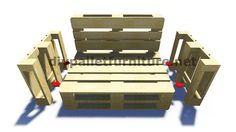 Pallet Furniture Instructions Pallet furniture instructions Couch Here are 20 great DIY pallet patio furniture tutorials and step by step guides that D I Y instructions for a Pall Diy Pallet Couch, Pallet Patio Furniture, Furniture Ideas, Pallet Furniture Instructions, Futon Bedroom, Dorm Futon, Twin Futon, Futon Chair, Futon Design