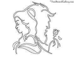 beauty and the beast stencils free Pumpkin Carving Disney Stencils, Cute Pumpkin Carving, Halloween Pumpkin Carving Stencils, Halloween Pumpkins, Pumpkin Template, Pumpkin Carving Templates, Disney Silhouette Art, Disney Beauty And The Beast, Beauty Beast