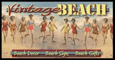 cool website for vintage beach stuff