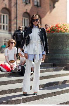 #fashion #style #outfit  ROSE & IVY JOurnal Copenhagen Fashion Week