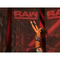 Bayley on WWE Raw