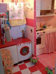 mini kitchen/laundry