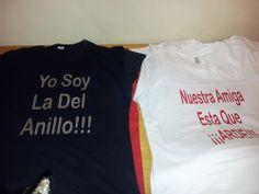 camisetas de mujer para despedida de soltera