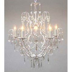 Versailles 5 Light Crystal Chandelier by Harrison Lane TOTAL COST= $185