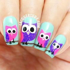 Nail art... Oh my goodness. I really want to do this.
