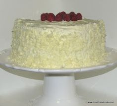 The Four Points Foodie: White Chocolate and Raspberry Cake
