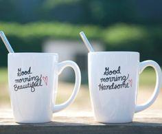 WANT! Adorable coffee mugs
