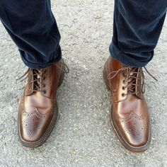 Litchfield Brogue Boots by Loake