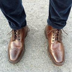 Litchfield Brogue Boots by Loake