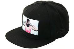 V/SUAL Apparel Ski Mask Snapback Hat - Black - Hat Club