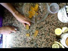 ▶ Manualidades: cómo hacer jabones de frutas caseros - Cómo hacer jabón casero - YouTube
