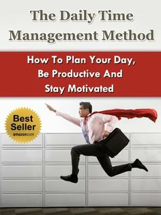 The Daily Time Management Method - How To Plan Your Day, Be Productive And Stay Motivated (RPM, Getting Things Done, Tony Robbins, Stephen Covey) by Stefan Hall, http://www.amazon.com/dp/B00BKD98J0/ref=cm_sw_r_pi_dp_2Mepsb13NWJK5