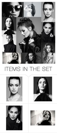 """""""Black and White"""" by emma16-scott on Polyvore featuring art"""
