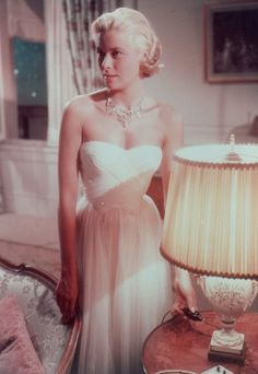 """Grace Kelly in """"To Catch a Thief"""", 1955."""