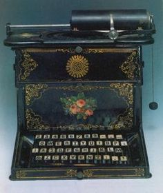A brief history of the QWERTY keyboard     - CNET  Enlarge Image  The original 1873 Sholes and Glidden typewriter.                                              Getty Images/Science Source                                          Theres an old legend about the QWERTY keyboard dating back to at least 1977: It probably would have been chosen if the objective was to find the least efficientcharacter arrangement.  In fact the layout was designed to help people type faster.  The QWERTY layout is…