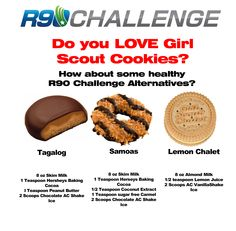 R90 Challenge Shake recipes