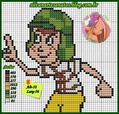 C2c Crochet, Plastic Canvas Patterns, Betty Boop, Pixel Art, Cross Stitch Patterns, Barbie, Crafts, Fictional Characters, Perler Beads