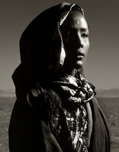 Albert Watson Waris Dirie, Morocco, 1992