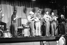 Toronto, CAN.  Robbie Schlosser played trumpet with the South Happiness Street Society Skiffle Band at the Mariposa Folk Festival in 1969
