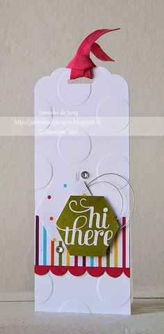 Stampin' Up! - Hi, there | janneke de jong