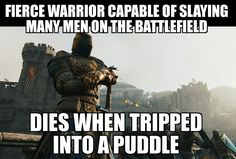 """gamercrunch: """" For Honor """" For Honor Viking, For Honour Game, Video Game Memes, Video Games, Funny Games, Fun Funny, Hilarious, We Happy Few, Film Games"""