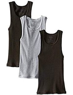 1892f424d8855 Amazon.com  Hanes Boys  3 Pack Ultimate Comfortsoft Dyed Tank  Clothing