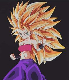 Caulifla super Saiyan 3