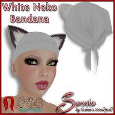 .: Somnia :. White Neko Bandana Ad for Hair Fair | Flickr - Photo Sharing!