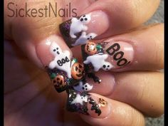 583 Best 3d Acrylic Nails Images On Pinterest In 2018 Nail Art