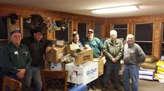 For the second year  the Masonic Lodge in Irasburg   Central Lodge #62  has stepped up to the plate to help the needy in our area. Last year one of Central's members challenged each member of the Lodge to purchase a complete Thanksgiving dinner for the Lodge to give away. We gave away about 10 complete meals last year. This year the challenge was again made and the members of Central Lodge #62 came through better than before. This year the Lodge members purchased and gave away 17 meals…
