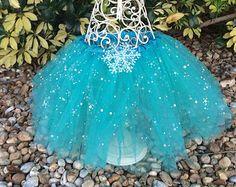 Frozen Party Favors Frozen Tutu Frozen Costume by partiesandfun