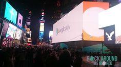 Größte Werbetafel der Welt am Times Square, New York