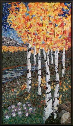 """Colorado Aspen"" by Kathy Thaden 