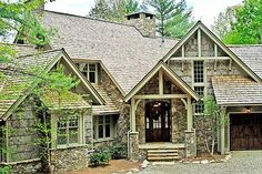 Rustic but regal.  GREAT website for floorplans; includes interior photos (at least on some)