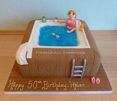 hot tub cake - Google Search