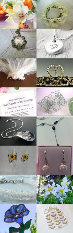 A treasure trove for a wedding June July August a TemptTeam Treasury by Crystal Cuff on Etsy--Pinned with TreasuryPin.com