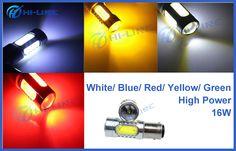 High Power 16W S25 LED Bulb Bau15s Epistar or CREE Chip Backup / Read Car Inner Lighting