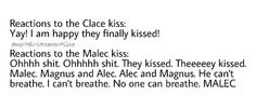 Clace and Malec